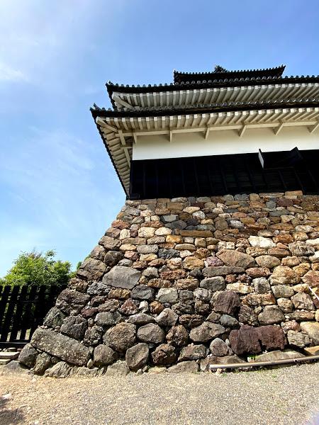 犬山城天守台石垣